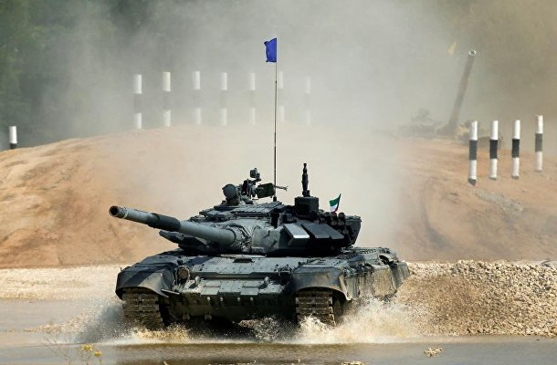 Танковый биатлон