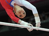 Российская гимнастка Алия Мустафина