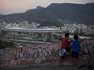 Олимпийский стадион «Маракана» в Рио-де-Жанейро