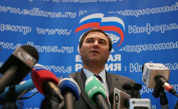 Вячеслав Володин на пресс-конференции