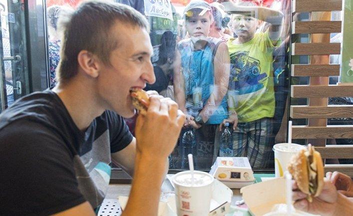 В Томске открылся первый «Макдоналдс»