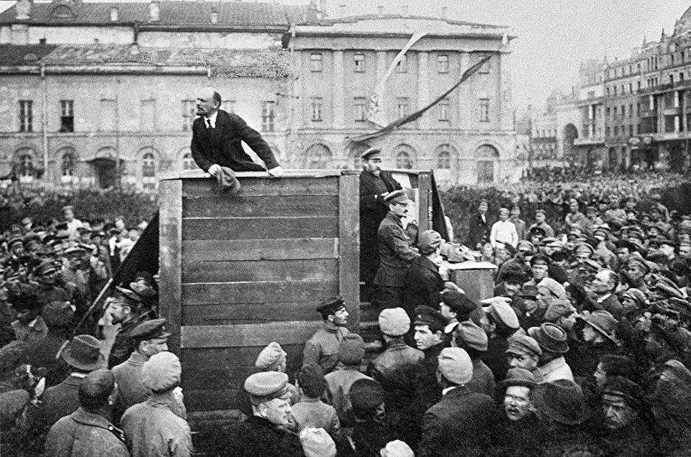 Выступление В. И. Ленина 5 мая 1920 года