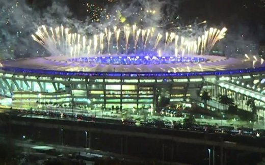 Игры в Рио завершились грандиозным фейерверком