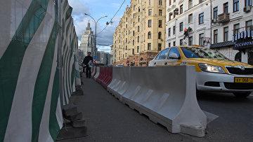 Реконструкция улиц в центре Москвы