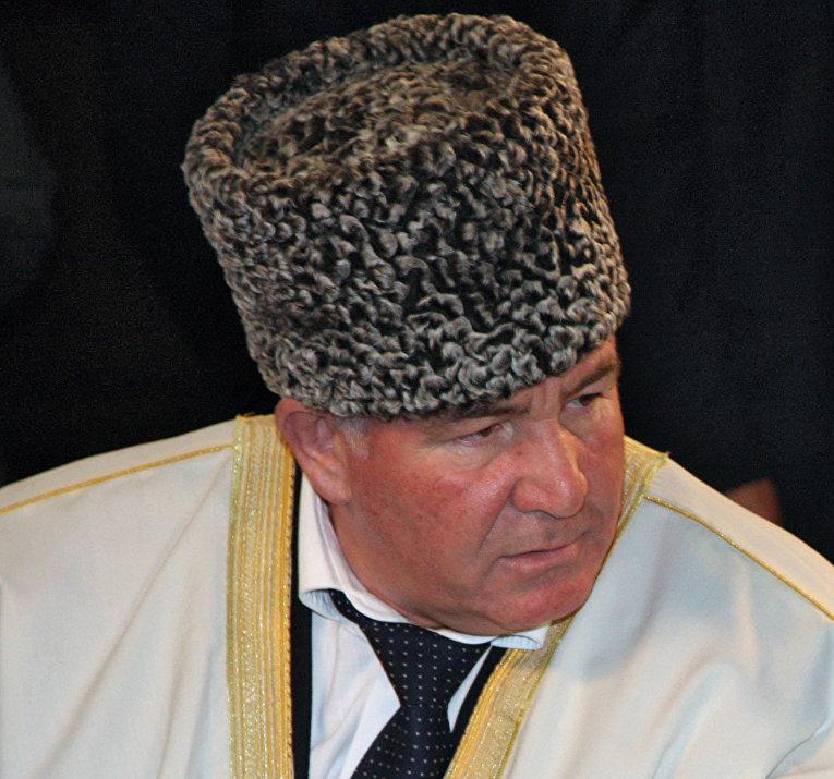Председатель Координационного центра мусульман Северного Кавказа (КЦМСК) муфтий Карачаево-Черкесии Исмаил Бердиев