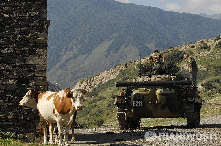 Год после военного конфликта с Грузией