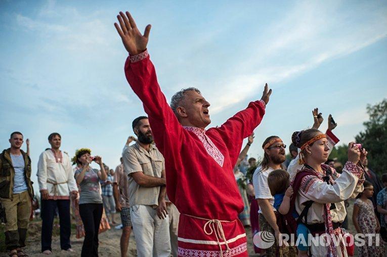 Празднование Ивана Купалы в Омской области