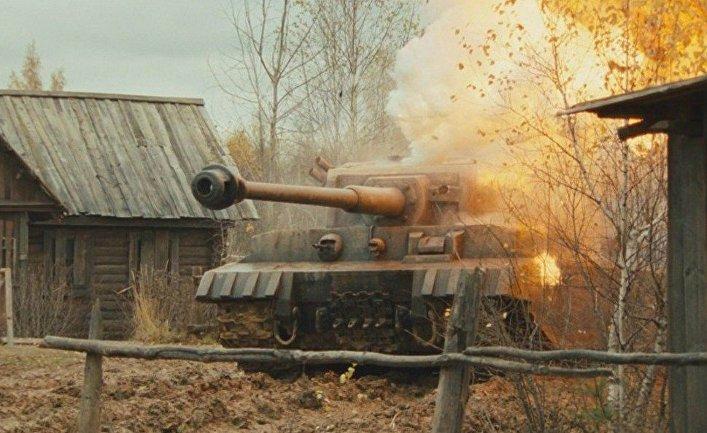 Кадр из фильма «Белый Тигр», 2012
