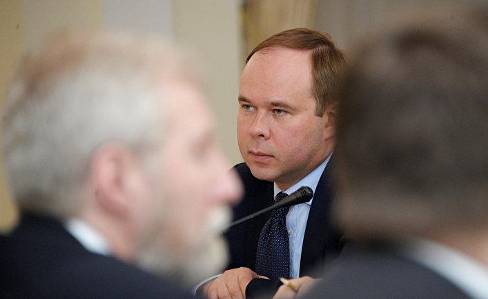 Министр РФ – руководитель Аппарата правительства РФ Антон Вайно