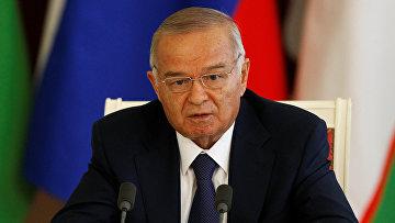 Президент Узбекистана Ислам Каримов в Кремле