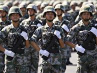 Репетиция Парада Победы в Пекине