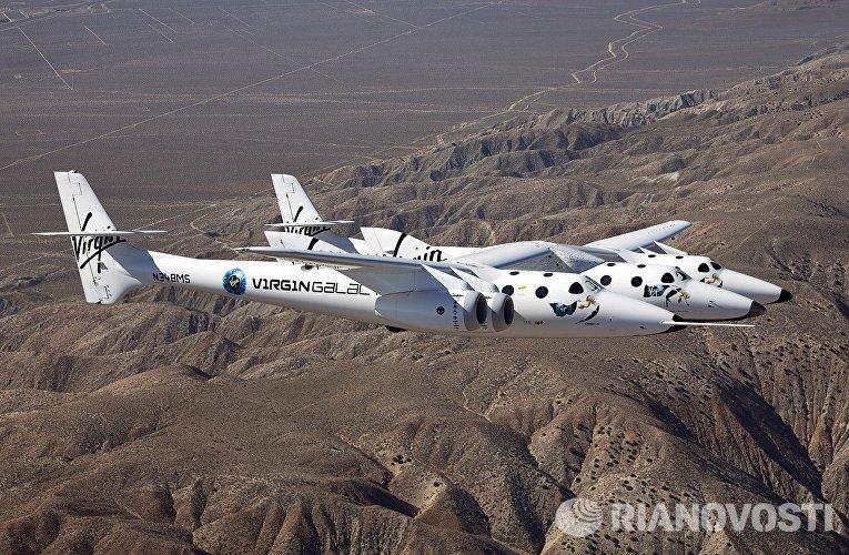 Суборбитальный космический корабль SpaceShipTwo