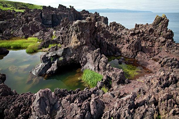 Курильские острова. Остров Итуруп