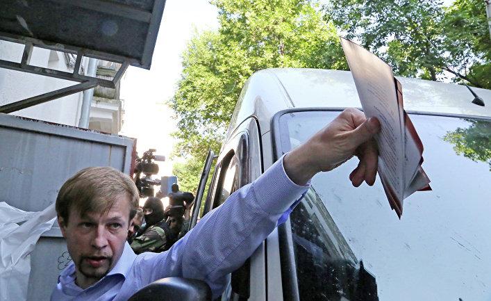 Задержание мэра Ярославля Евгения Урлашова