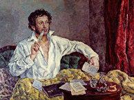 Репродукция портрета А. С. Пушкина