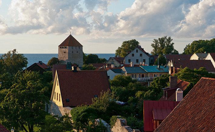 Висбю, главный город шведского острова Готланд