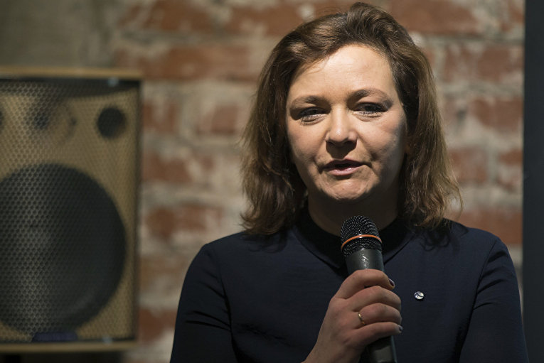 Российский общественный деятель Елена Панфилова