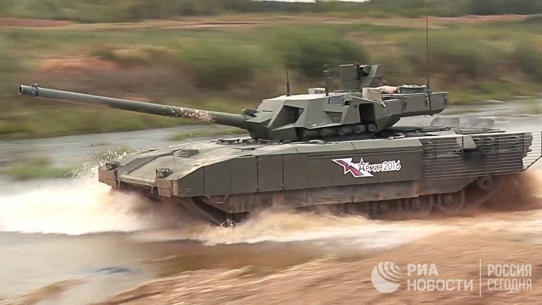 "Демонстрация танка Т-14 ""Армата"""