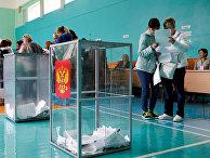 На избирательном участке в Ставрополье в единый день голосования