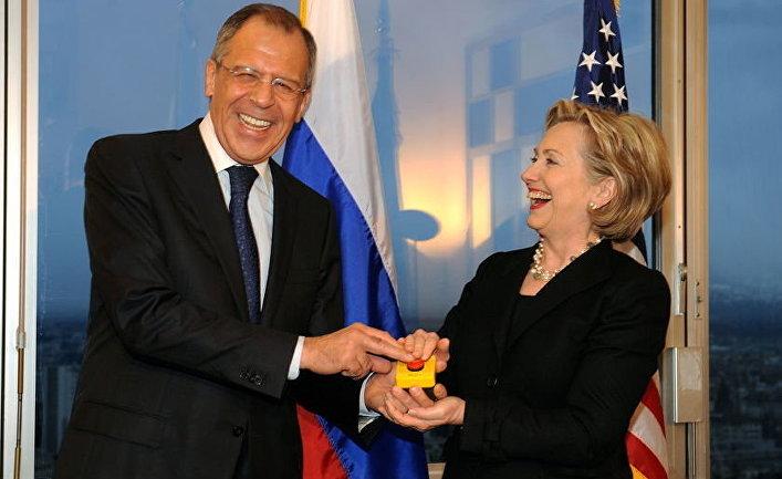 Клинтон Лавров кнопка перезагрузки