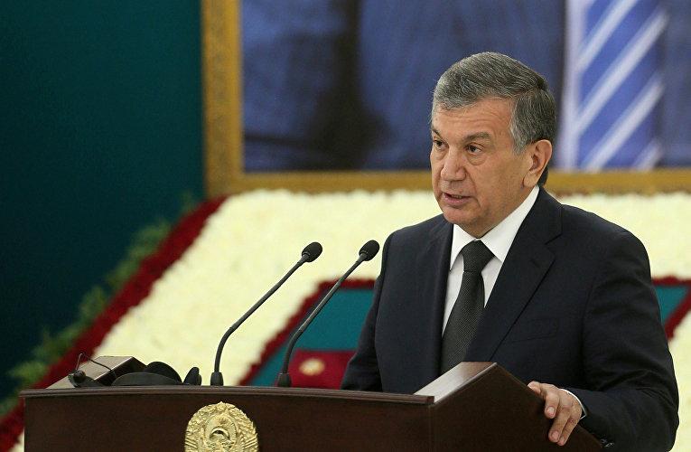 Премьер-министр Узбекистана Шавкат Мирзиеев