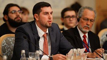 Президент Антиглобалистского движения России Александр Ионов