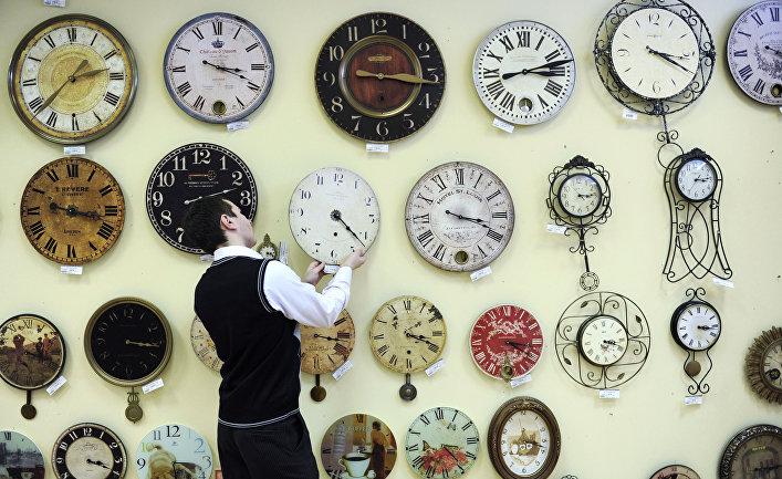 Магазин часов в Санкт-Петербурге