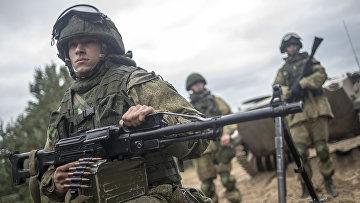 Учения ВДВ в Рязанской области