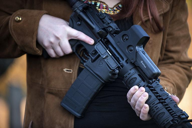 Полуавтоматическая винтовка АР-15