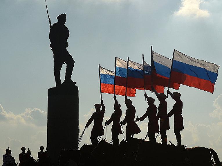 Празднование Дня Государственного флага в Москве