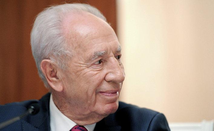 Президент Израиля Шимон Перес
