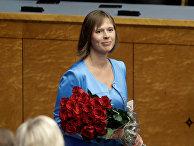 Избранный президент Эстонии Керсти Кальюлайд