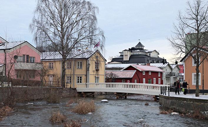 Шведский город Норртелье