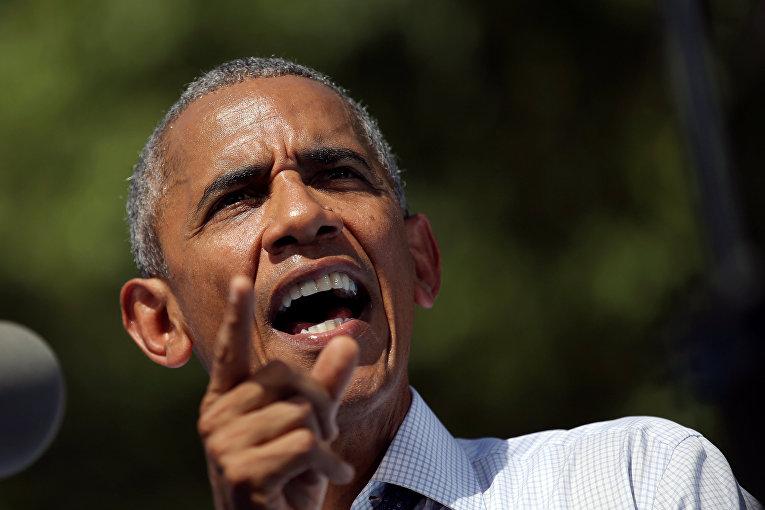 Президент США Барак Обама в Филадельфии