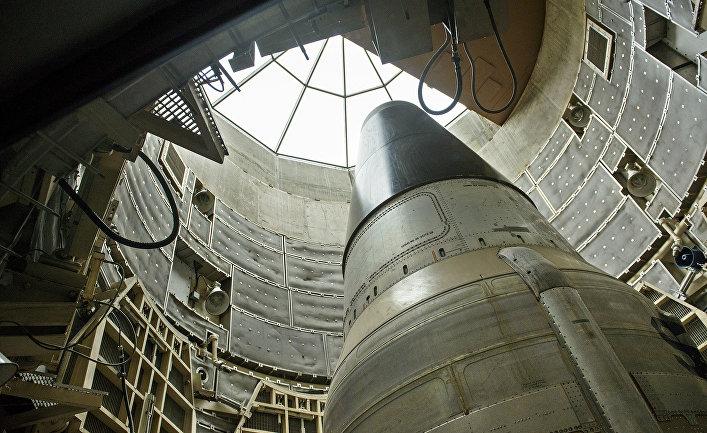 Дезактивированная межконтинентальная баллистическая ракета Titan II