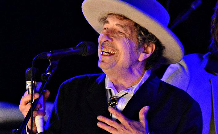 Американский музыкант Боб Дилан