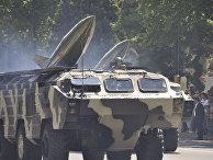 Тактический ракетный комплекс «Точка-У» на параде в Баку