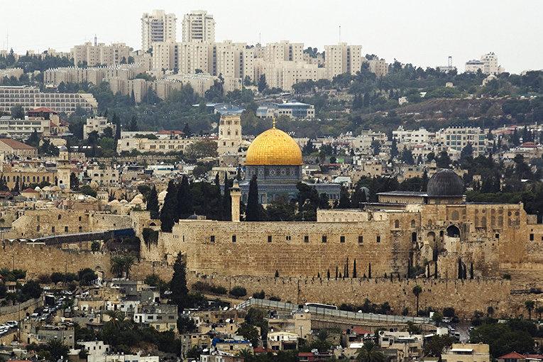 Мечеть Купол скалы на Храмовой горе в Иерусалиме