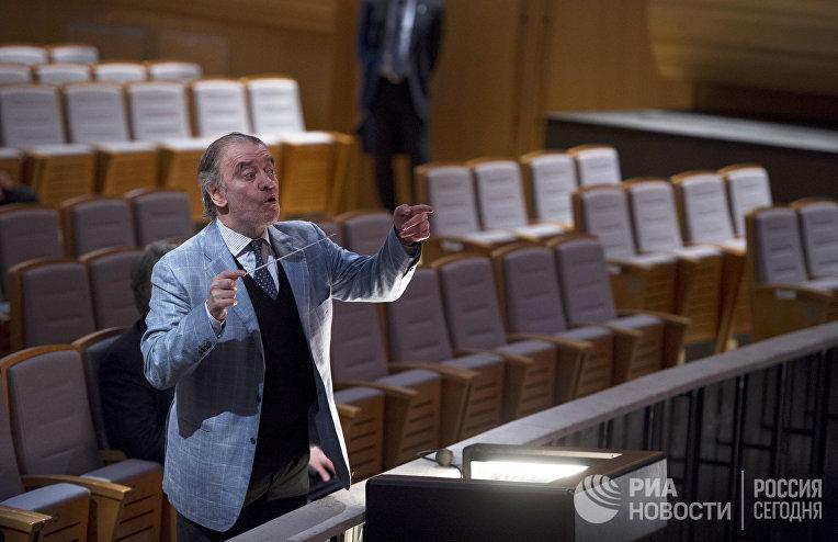 Художественный руководитель Мариинского театра Валерий Гергиев