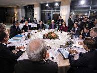 Встреча лидеров стран «нормандской четверки» в Берлине