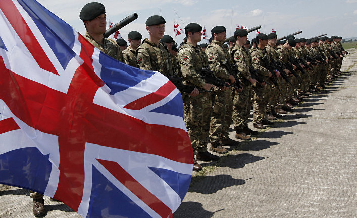 Британские военнослужащие
