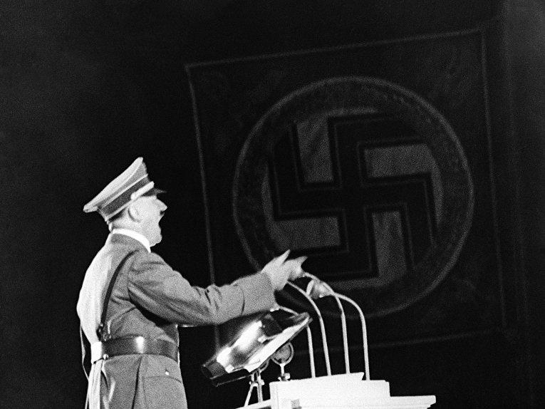 Выступление канцлера Германии Адольфа Гитлера в Берлине