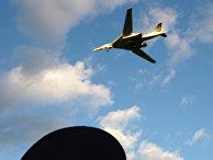 Российский сверхзвуковой бомбардировщик Ту-160