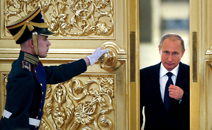 Президент РФ Владимир Путин в Кремле