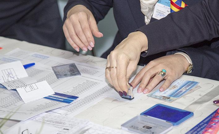 Выборы президента в Молдавии