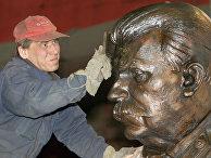 Памятник Иосифу Сталину, созданный Зурабом Церетели