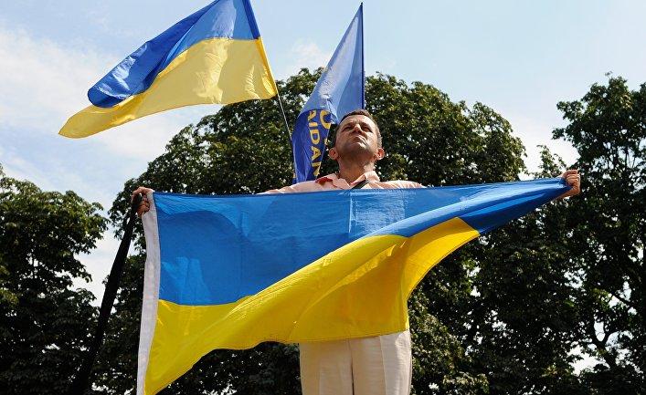 Митинг у здания Верховной Рады в Киеве