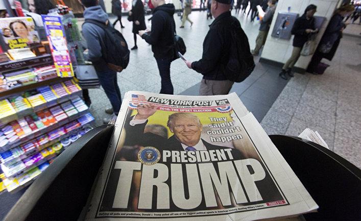 Обложка газеты The New York Post