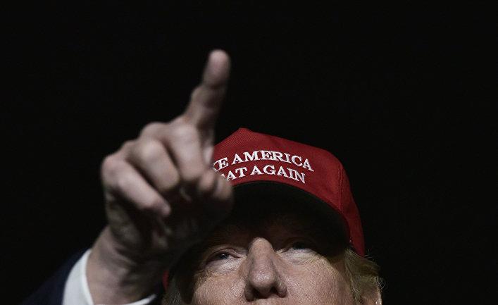 Кандидат в президенты США Дональд Трамп выступает в Пенсильвании