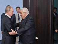 Президент России Владимир Путин и экс-госсекретарь США Генри Киссинджер